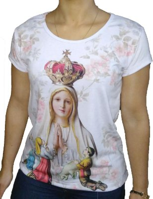 Camiseta Feminina Ns Fátima