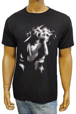 Camiseta Viscolycra Face mosaico