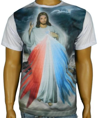 Camiseta  Jesus Misericordioso