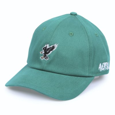 Boné Aversion Dad Hat Aba Curva Verde - Model Eagle