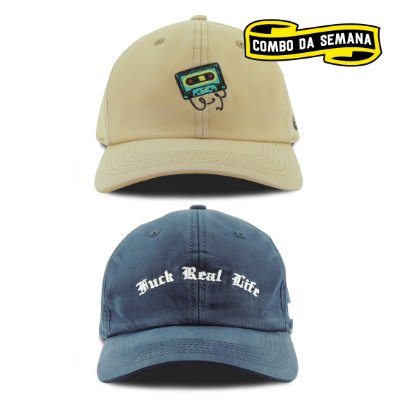 COMBO | 2 Dad Hats - K7/Life | FRETE GRÁTIS