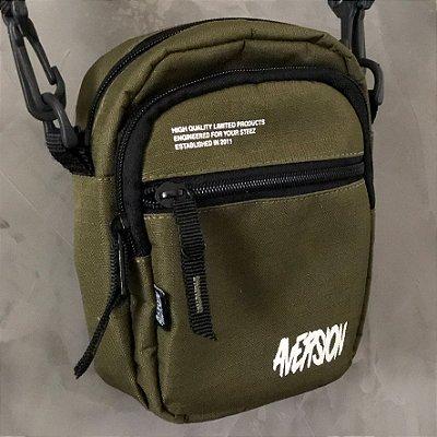 Bolsa Lateral Shoulder Bag Aversion Verde Militar
