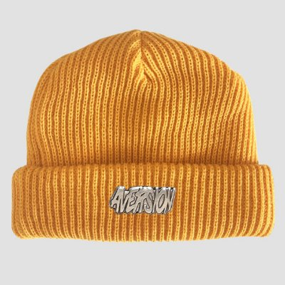 Touca Gorro Sailor Aversion Amarelo - Model Logo