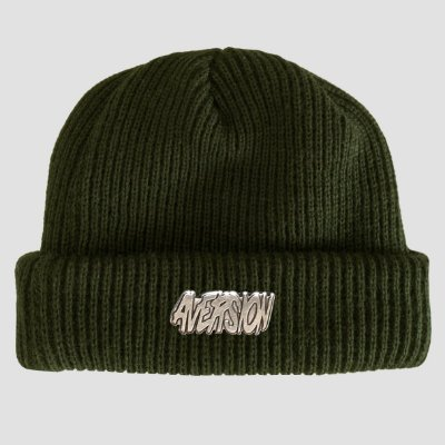Touca Gorro Sailor Aversion Verde Militar - Model Logo