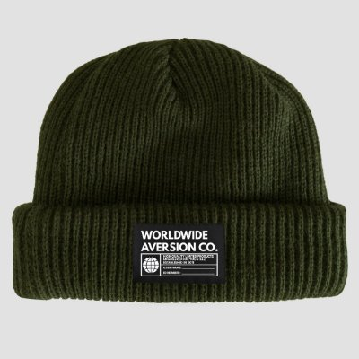 Touca Gorro Sailor Aversion Verde Militar - Model Worldwide