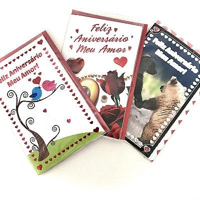Cartão Aniversário Romântico