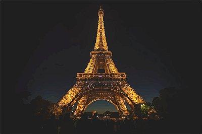 Placa Decorativa - Torre Eiffel  - 42X30cm