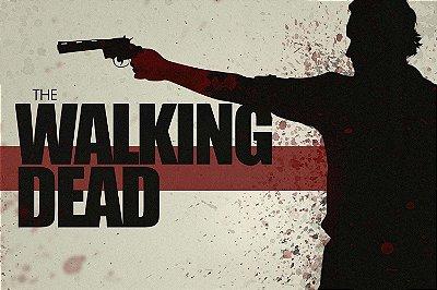 Quadro The Walking Dead - Artístico