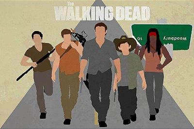 Quadro The Walking Dead - Minimalista 2