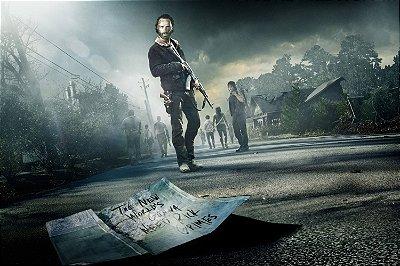 Quadro The Walking Dead - Cidade 2