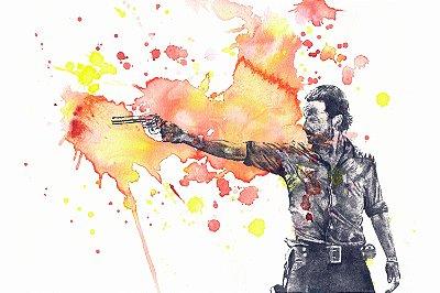 Quadro The Walking Dead - Artístico 2