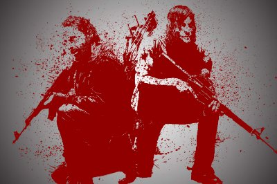 Quadro The Walking Dead - Artístico 3
