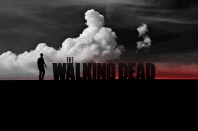 Quadro The Walking Dead - Artístico 4