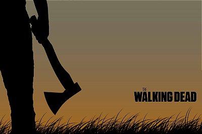 Quadro The Walking Dead - Artístico 5