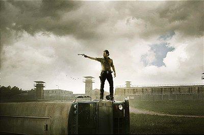 Quadro The Walking Dead - Rick Grimes Prisão 2