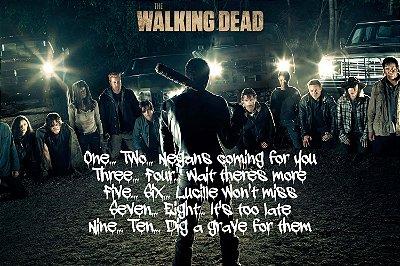 Quadro The Walking Dead - Momento Negan