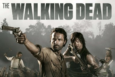 Quadro The Walking Dead - Principais