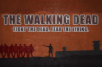 Quadro The Walking Dead - Artístico 7