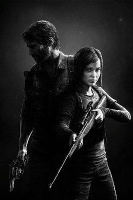 Quadro The last of us - Joel e Ellie 3