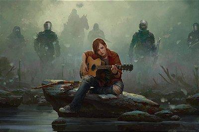 Quadro The last of us - Ellie Violão 3