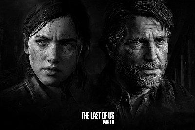 Quadro The last of us - Joel e Ellie