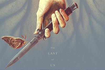 Quadro The last of us - Faca e Borboleta