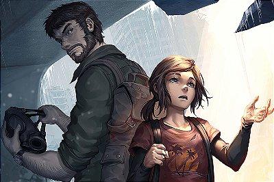 Quadro The last of us - Joel e Ellie 2