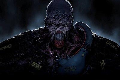 Quadro Gamer Resident Evil 3 - Nemesis