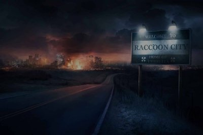 Quadro Gamer Resident Evil - Raccoon City