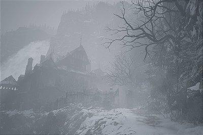 Quadro Gamer Resident Evil Village - Paisagem 2