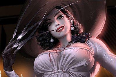 Quadro Resident Evil Village - Lady Dimitrescu 3