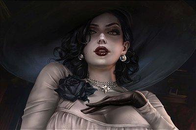 Quadro Resident Evil Village - Lady Dimitrescu 4