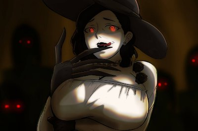Quadro Resident Evil Village - Lady Dimitrescu 7