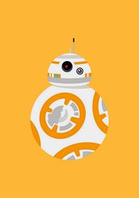 Quadro Minimalista H.E - Star Wars