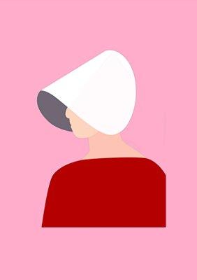 Quadro Minimalista H.E - The Handmaid's Tale