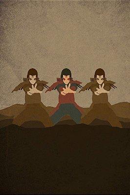 Quadro Naruto - Hashirama Senju Minimalista