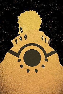 Quadro Naruto - Minimalista 3