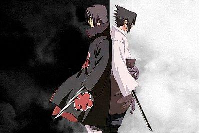 Quadro Naruto - Itachi e Sasuke 2