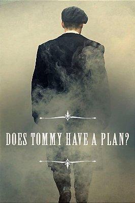 Quadro Peaky Blinders - Tommy tem um Plano?