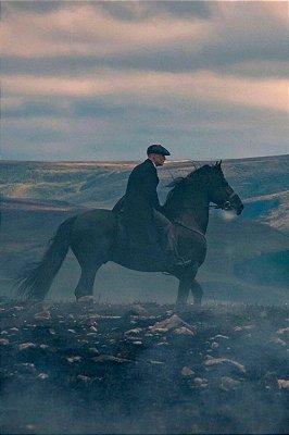 Quadro Peaky Blinders - Tommy no Cavalo