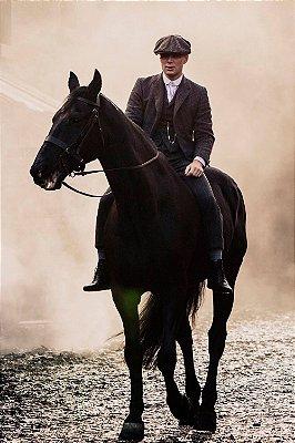 Quadro Peaky Blinders - Tommy no Cavalo 2