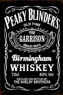 Quadro Peaky Blinders - Whiskey