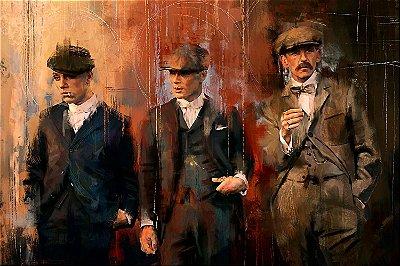 Quadro Peaky Blinders - Irmãos Shelby Artístico