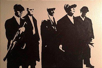 Quadro Peaky Blinders - Sombras