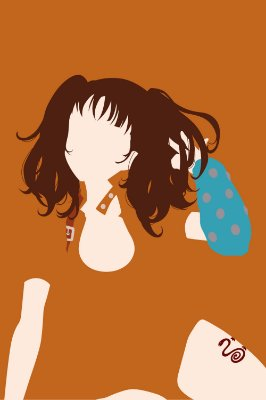 Quadro Nanatsu no Taizai - Diane Minimalista