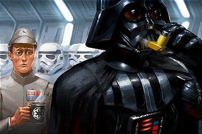 Quadro Star Wars - Darth Vader Artístico 2