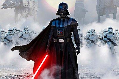 Quadro Star Wars - Darth Vader e Clones 2