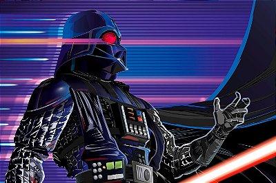 Quadro Star Wars - Darth Vader Cyber 2