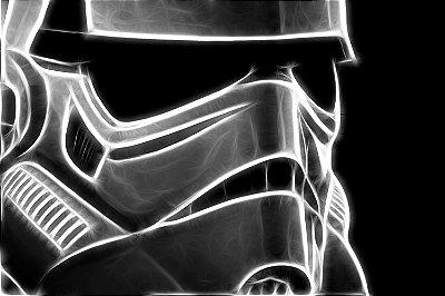 Quadro Star Wars - Stormtrooper Luz