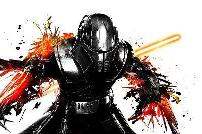 Quadro Star Wars - Sith Artístico